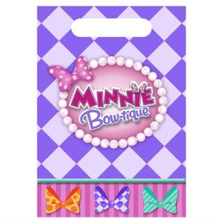 Minnie Dream Party Loot Bags Pk8