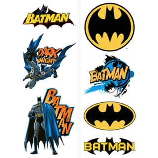 Batman Heroes Tattoos Shts2