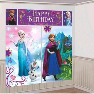 Frozen Wall Decoration Pk5