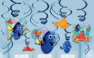 Finding Dory Hanging Swirls Pk12