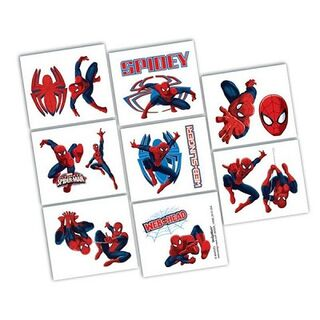Spiderman Ultimate Tattoos 1Sheet