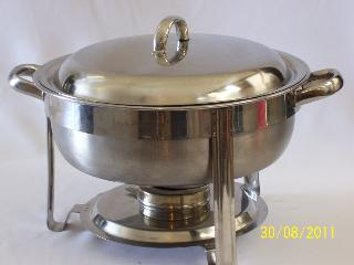 Chaffing dish - 5 ltr round hire