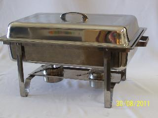 Chaffing dish - 8 ltr rectangle hire