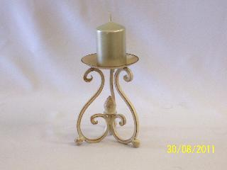 Candelabra - Wrought Iron  Single Point