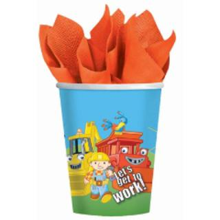 Bob The Builder Cups Pk8