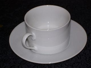 Crockery Hire - Cup & saucer