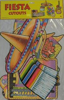 Fiesta Cut Outs Printed 2 Sides 16