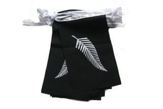 Bunting Flag Pennant Banner - Silver Fern