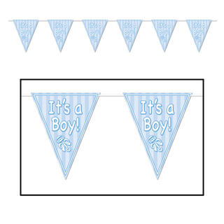 Baby Pennant Banner It's A Boy