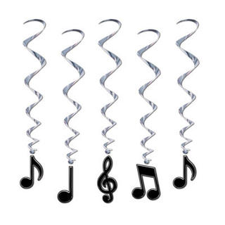 Whirls -  Musical Note Whirls