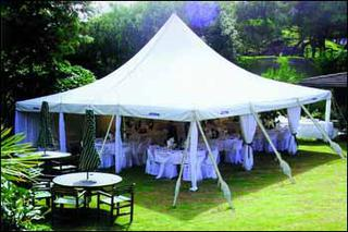 Marquee Hire - Peg & Pole 6x6M