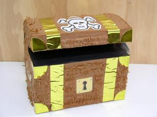 Pinata Treasure Chest