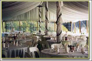 Marquee Hire - Silk Liner