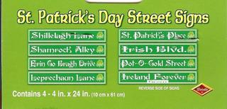 Street Signs - St Patricks Day