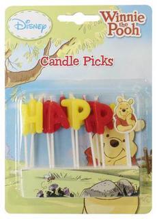 Winnie Candle Pick Happy Birthday