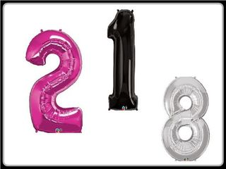 Giant Foil Balloon Numbers