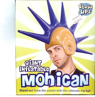 Inflatable Hair Punk