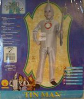 Costume Tin Man Child Med