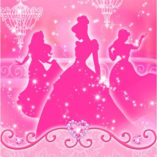 Princess Lunch Napkins Pk16