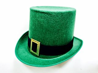 St Patricks Top Hat Felt with Buckle
