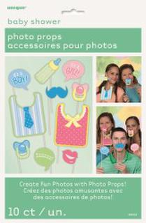 Photo Props - Baby Shower Pk10