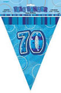 Banner Glitz Flag Blue 70