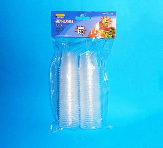 Shot Glasses Clear disposable 30ml Pk60