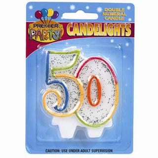 Candle Rainbow 50
