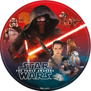 Star Wars Episode 7 Force Awakens Lunch Plates Pk8