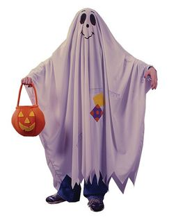 Costume Friendly Ghost Child (12-14) Lge