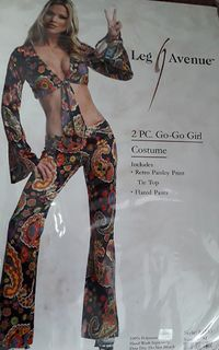 Costume Go Go Girl Adult S/M