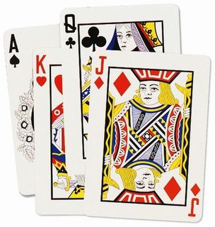 Casino Cutouts Playing Cards 18