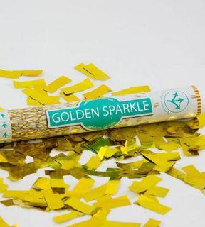 Confetti Cannon Golden Sparkle 40cm