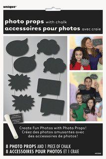 Photo Props - Chalkboard Pk8