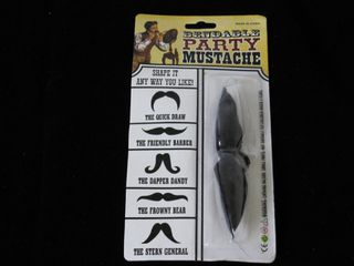Dress Up Bendable Moustache