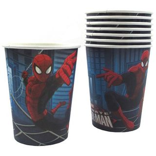 Spiderman Ultimate Cups Pk8