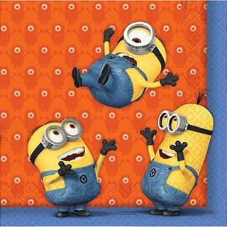 Minions Lunch Napkins Pk 20