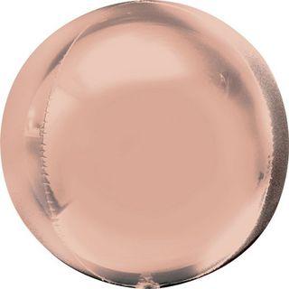 Foil Orbz Rose Gold 38X40cm