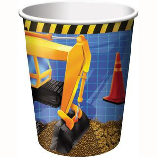 Construction Cups Pk8