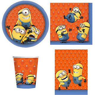 Minions Party Pack 40 pce set