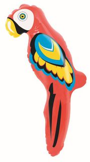 Inflatable Parrot 61cm high