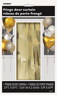 Curtain Foil Gold 91cm x 243cm