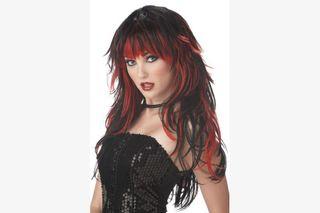 Wig - Vampire Long R/W Lady
