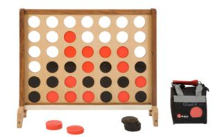Game Connect 4 Wooden - Hire