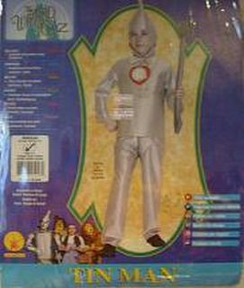 Costume Tin Man Child Lge