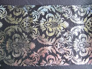Table Runner Silver/Black 290MMx5M
