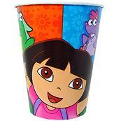 Dora Cups 9oz Pk8