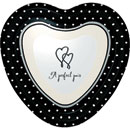 Wedding I Do - Plates - Lunch Heart Shape