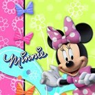 Minnie Lunch Napkins Pk16