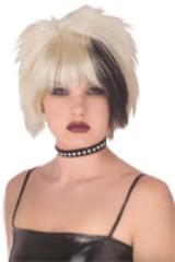 Wig - Punk Pristine Blk/Blonde